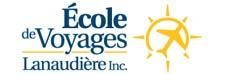 Logo of École de voyages Lanaudière